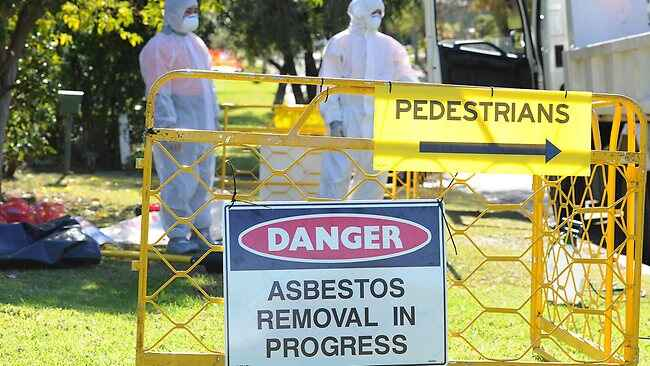 asbestos removal safety handling
